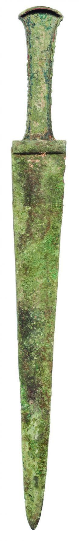 2006  -  PRÓXIMO ORIENTE. IRÁN. Edad del Hierro. Espada (estilo cultura Hasanlu IV) (1250-800 a.C.). Bronce. Longitud 39,5 cm.