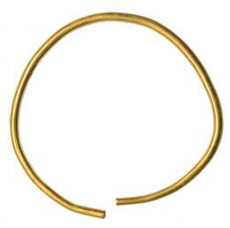 2020  -  HISPANIA ANTIGUA. FENICIO-PÚNICO. Aro (IX-VII a.C). Oro. Peso 27,8 gr. Diámetro 6,2 cm.