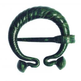 2031  -  ROMA. Fíbula en omega (I a.C. - III d.C.). Bronce. Altura 4,3 cm. Aplicada capa de protección.