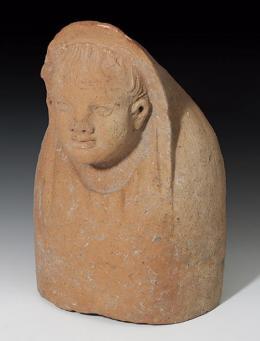 45  -  ETRURIA. Busto votivo de niño