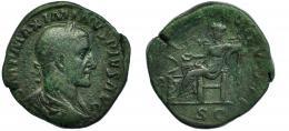 37  -  MAXIMINO I. Sestercio. Roma (235-236).