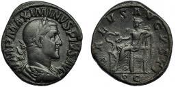 38  -  MAXIMINO I. Sestercio. Roma (235-236).