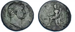 40  -  ADRIANO. Sestercio. Roma (125-128).