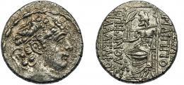 42  -  REINO SELÉUCIDA. Filipo I. Tetradracma (93-83 a.C.).