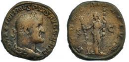 45  -  MAXIMINO I. Sestercio. Roma (236-238)