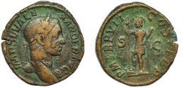 46  -  ALEJANDRO SEVERO. Sestercio. Roma (228).