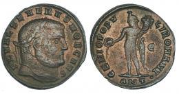6  -  Follis. Severo II. Antioquía. R/ GENIO POPV-LI ROMANI. MBC-.