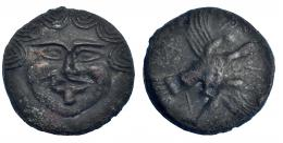 12  -  AES grave. Skythia. Olbia. 437-410 a.C. SBG-1682. Leves oxidaciones. MBC+.