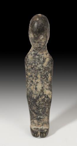 1066  -  HISPANIA ANTIGUA. Cultura ibérica. Exvoto (IV-I a.C.). Bronce. Altura 4,7 cm.