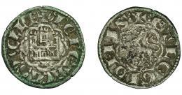 430  -  REINOS DE CASTILLA Y LEÓN. ALFONSO X. Novén-dinero seisén. Cuenca. Ve 0,68 g. 18,3 mm. III-266.1. BMM-397. MBC/MBC-.