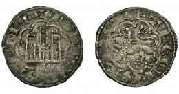 431  -  REINOS DE CASTILLA Y LEÓN. ALFONSO X. Novén-dinero seisén. León. VE 0,77 g. 18,4 mm. III-267.1. BMM-398. MBC.