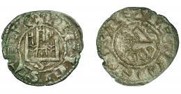 448  -  REINOS DE CASTILLA Y LEÓN. FERNANDO IV. Pepión-dinero. Sevilla. VE 0,69 g. 19,4 mm. III-325. BMM-456. MBC.