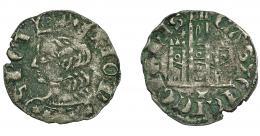 452  -  REINOS DE CASTILLA Y LEÓN. ALFONSO XI. Cornado. Cuenca. *-*/ cuenco. VE 0,71 g. 17,8 mm. III-336.1. BMM-473.1. Oxidaciones. MBC-.