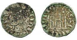 453  -  REINOS DE CASTILLA Y LEÓN. ALFONSO XI. Cornado. Cuenca. L-*/L. VE 0,82 g. 17,8 mm. III-338.1. BMM-475.1. Oxidaciones. MBC+.