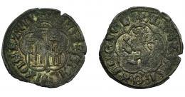 461  -  REINOS DE CASTILLA Y LEÓN. ALFONSO XI. Dinero. Sevilla. VE 0,94 g. 19,8 mm. III-353. BMM-469. MBC.
