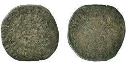 468  -  REINOS DE CASTILLA Y LEÓN. ENRIQUE II. Real de vellón. Toledo. T en anv. VE 3,67 g. 25,7 mm. III-423. BMM-583.3. BC+/BC-.