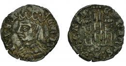 472  -  REINOS DE CASTILLA Y LEÓN. ENRIQUE II. Cornado. Sevilla. VE 0,86 g. 19,6 mm. III-491. BMM-672. MBC+.
