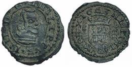 539  -  FELIPE IV. 4 maravedís. 1663. Segovia. BR. RS-610. AC-255. MBC.