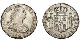 641  -  FERNANDO VII. 4 reales. 1809. Guatemala. M. VI-849. Pequeñas marcas. EBC/EBC+. Muy rara en esta conservación.