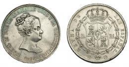 698  -  ISABEL II. 20 reales. 1837. Madrid. CR. VI-498. EBC-/EBC.