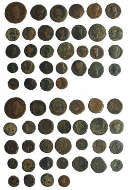 7  -  HISPANIA ANTIGUA. Lote de 31 monedas de Hispania antigua: Acci (4), Carthago Nova (1), Carteia (3), Corduba (3), Italica (4), Colonia Patricia (6), Colonia Romula (4), Tarraco (1), Iulia Traducta (5). RC/BC+