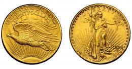 897  -  MONEDAS EXTRANJERAS. ESTADOS UNIDOS DE AMÉRICA. 20 dólares. 1924. KM-131. EBC-.