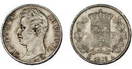 916  -  MONEDAS EXTRANJERAS. FRANCIA. 2 francos. 1828 A. KM-725.1. MBC+/EBC-.