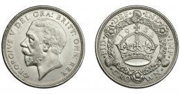 938  -  MONEDAS EXTRANJERAS. GRAN BRETAÑA. Corona. 1932. KM-836. MBC+/EBC-.