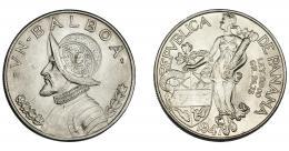 961  -  MONEDAS EXTRANJERAS. PANAMÁ. Balboa. 1947. KM-13. Pequeñas marcas. EBC.