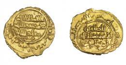 1083  -  MONEDA EXTRANJERA. MUNDO ISLÁMICO. FATIMÍES. Ali al-Zahir (411-427 H). 1/4 dinar. S.C./S.F. AU 0,83 g. 12,7 mm. Nicol-tipo C1. Fina grieta. EBC-.