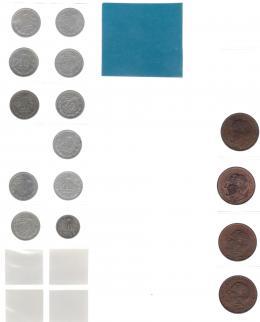 1114  -  MONEDAS EXTRANJERAS. MÉXICO. Colección 10 centavos 1905-1914 KM-428 10 piezas, 1929 KM-429, 1920 y 1935 KM-430, 1936-1946 8 piezas, KM-432, 1925-1935 8 piezas; KM 431, 1974-1984 6 piezas; KM-434.2 1957-67, KM-433, 4 piezas. Total 40 piezas. De MBC- a SC.