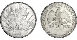 1125  -  MONEDAS EXTRANJERAS. MÉXICO. Peso. 1910. KM-453. EBC-.