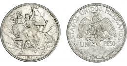1126  -  MONEDAS EXTRANJERAS. MÉXICO. Peso. 1911. KM-453. MBC+.