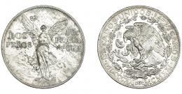 1129  -  MONEDAS EXTRANJERAS. MÉXICO. 2 pesos. 1921. KM-462. EBC.