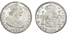 829  -  CARLOS IV. 8 reales. 1798. Potosí. PP. VI-818. MBC.