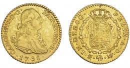 836  -  CARLOS IV. Escudo. 1798. Madrid. MF. VI-912. MBC.