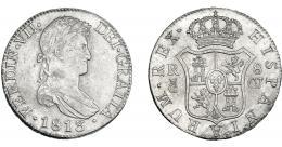 873  -  FERNANDO VII. 8 reales. 1813. Cádiz. CJ. VI-953. MBC+/EBC-.