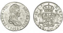 879  -  FERNANDO VII. 8 reales. 1813. Lima. JP. VI-1044. B.O. EBC-/EBC.