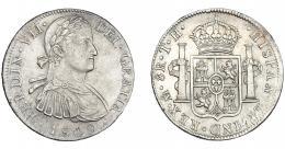 882  -  FERNANDO VII. 8 reales. 1809. México. TH. VI-1083. MBC+/EBC-.
