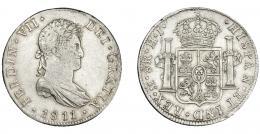 884  -  FERNANDO VII. 8 reales. 1811. México. HJ. VI-1088. MBC.