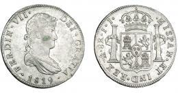 888  -  FERNANDO VII. 8 reales. 1819. México. JJ. VI-1099. MBC+/EBC-.