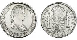 889  -  FERNANDO VII. 8 reales. 1819. Zacatecas. AG. VI-1206. Pequeñas marcas. MBC-/MBC.