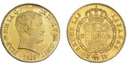 895  -  FERNANDO VII. 80 reales. 1822. Madrid. SR. VI-1344. B.O. EBC-/EBC.