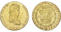 897  -  FERNANDO VII. 8 escudos. 1812. Lima. JP. VI-1464. R.B.O. MBC-/MBC.