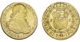 903  -  FERNANDO VII. 8 escudos. 1813. Popayán. JF. VI-1515. R.B.O. MBC+.