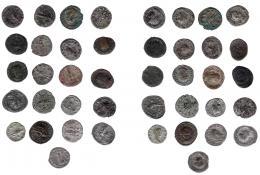 140  -  IMPERIO ROMANO. Lote de 21 antoninianos. De RC a MBC+.
