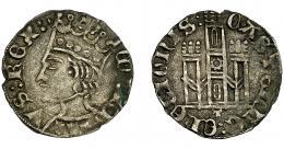 248  -  REINOS DE CASTILLA Y LEÓN. ENRIQUE II. Cornado. Toledo. CASTELVE: ELEGIONIS: en rev. AR 0,93 g. 19,48 mm. III-492. BMM-673.1. MBC+.
