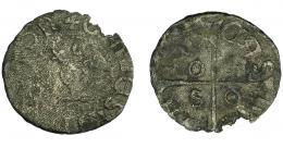 260  -  CARLOS I. Calleres. Cerdeña. A/ + CARLES I.IPERATOR. Cabeza a izq. R/ + CASTRI CALLAR. VE 0,73 g. 14,7 mm. CRU-4188. BC.