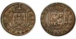 272  -  FELIPE IV. 8 maravedís. 1624. Segovia. AC-389. MBC. RBO.