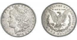 358  -  MONEDAS EXTRANJERAS. ESTADOS UNIDOS. Dólar. 1878. KM-110. Ebc-.